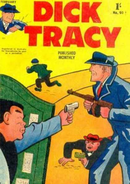 Dick Tracy 93 - Issue 93 - Monthly Comics - Tommy Gun - Detective - Classic Comics