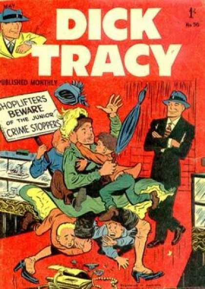 Dick Tracy 96 - Detective - Crime - Umbrella - Hat - Teens