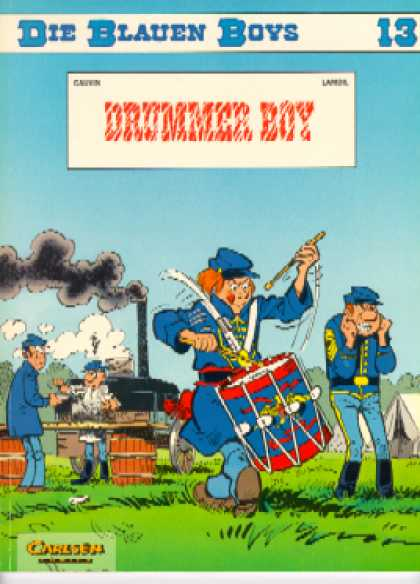 Die Blauen Boys 24 - Drummer Boy - Tents - Soldiers - Smoke - Barrels