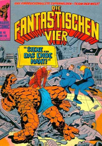 die fantastischen vier superhelden