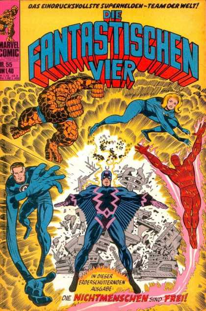 Die Fantastischen Vier 55 - Frei - The Thing - Sue Storm - Blast - Human Torch