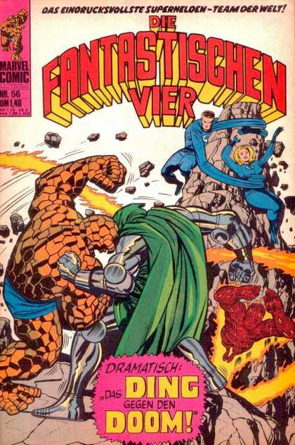 Die Fantastischen Vier 56 - Human Torch - Thing - Mr Fantastic - Invisible Woman - Doctor Doom