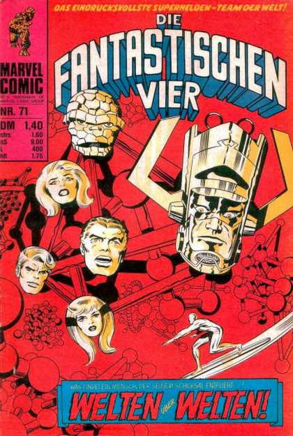 Die Fantastischen Vier 71 - Silver Surfer - Molecular Structures - The Thing - Sue Storm - Marvel Comic