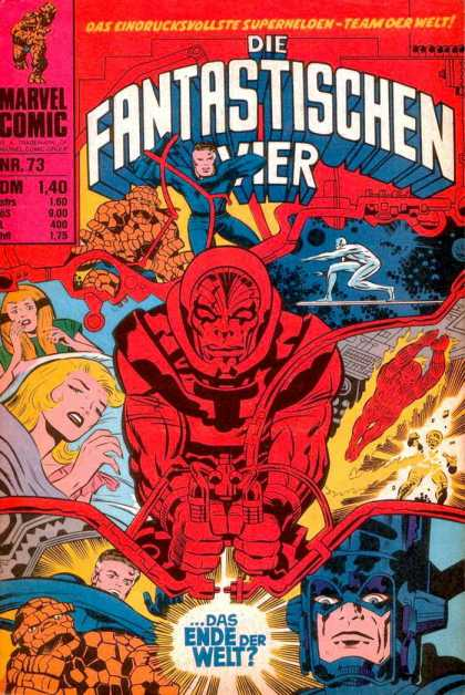 Die Fantastischen Vier 73 - Woman - Superheroe - Mutant - Fantastic Four - Fighting