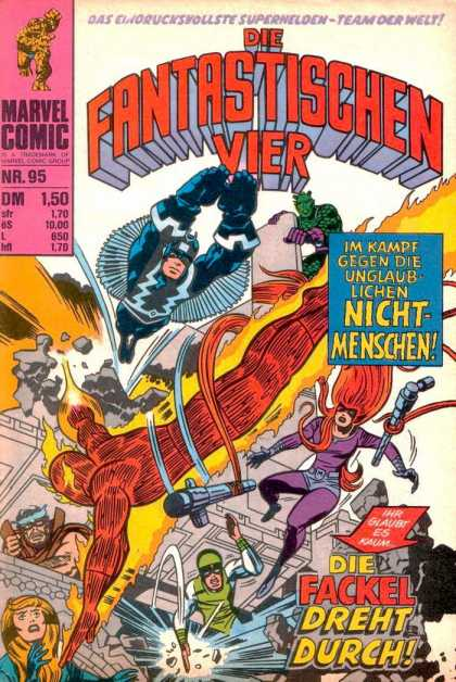 Die Fantastischen Vier 95 - Marvel - Marvel Comics - Fantastic Four - Inhumans - Battle