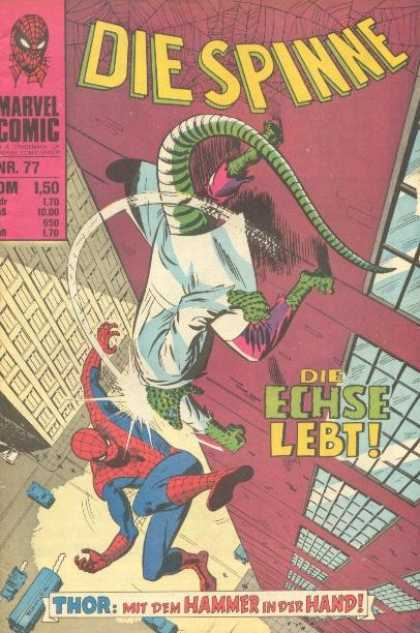 Die Spinne 100 - Spiderman - Lizard - Building - Fall - City