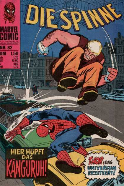 Die Spinne 105 - Car Jump - Spider-man - Kangaroo - Thor - Stomp