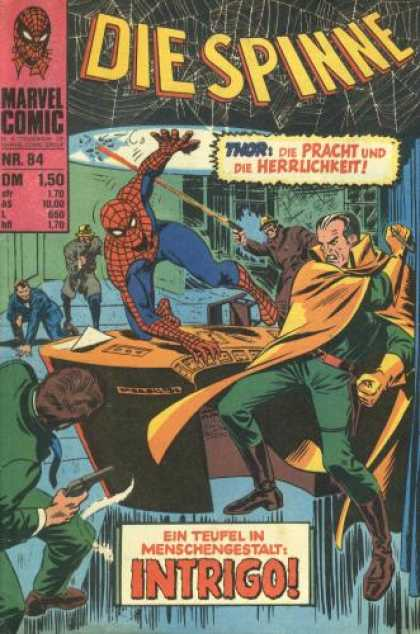 Die Spinne 107 - Spiderman - Intrigo - Evil Mastermind - Shooting At Spiderman - In The Layer