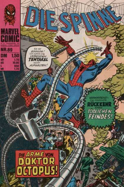 Die Spinne 112 - Marvel Comic - Tentakel - Die Arme Von - Doctor Octopus - Spiderman