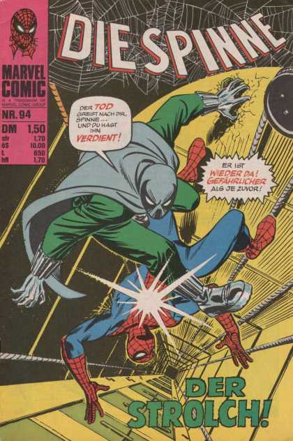 Die Spinne 117 - Spide Man - Marvel Comics - Web - Train Track - Masked Man