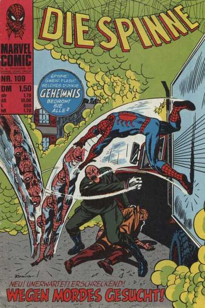 Die Spinne 132 - Truck - Greem Smoke - Geheimnis - Marvel Comic - Spiderman