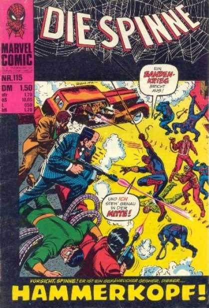 Die Spinne 138 - Hammerkopf - Marvel - Got Attacke - Firing - From The Car