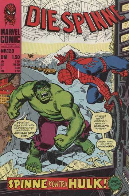 Die Spinne 143 - Hulk - Spiderman - Strong - Green - Sly
