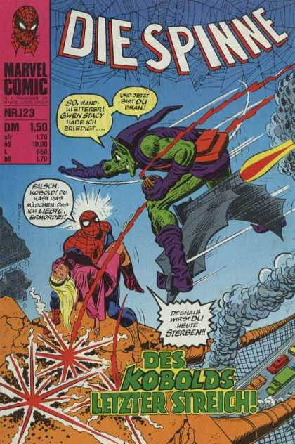 Die Spinne 146 - Marvel - Spider-man - Battle - Goblin - Resquing