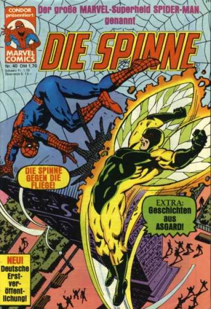 Die Spinne 200 - German Language - Spider-man - Web - Winged Villian - Skyscraper