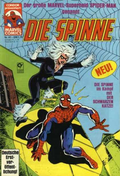 Die Spinne 201 - Marvel Comic - Condor - Xmen - Spiderman - New Comic