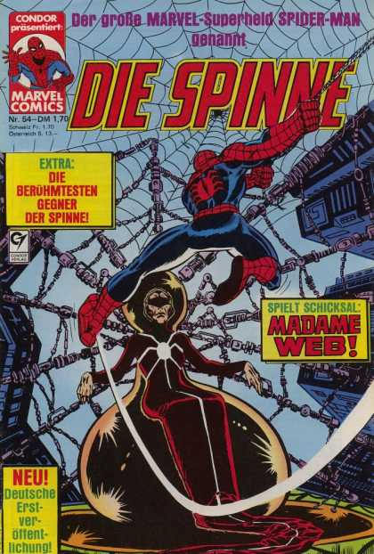 Die Spinne 214 - Spiderman - German - 54 - Web - Madame