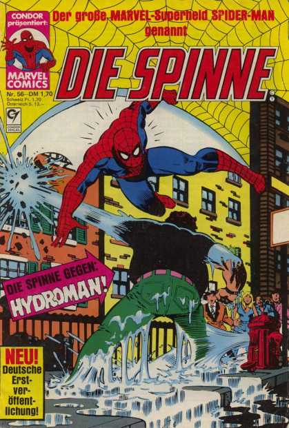 Die Spinne 216 - Marvel - Marvel Comics - Spider-man - Hydroman - Fight