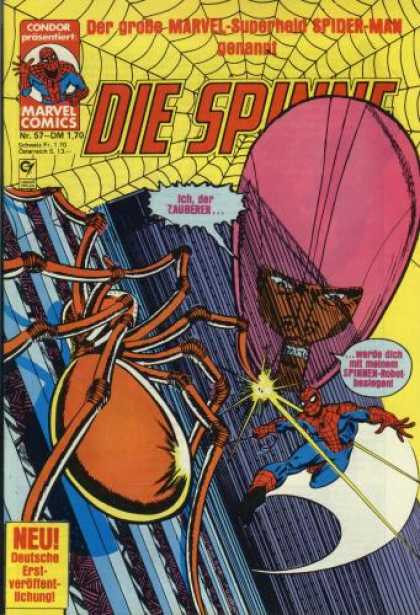 Die Spinne 217 - Der Grobe Marvel-superheld Spider-man Nenannt - Giant Spider - Ich Der Zauberen - Red Head - Web