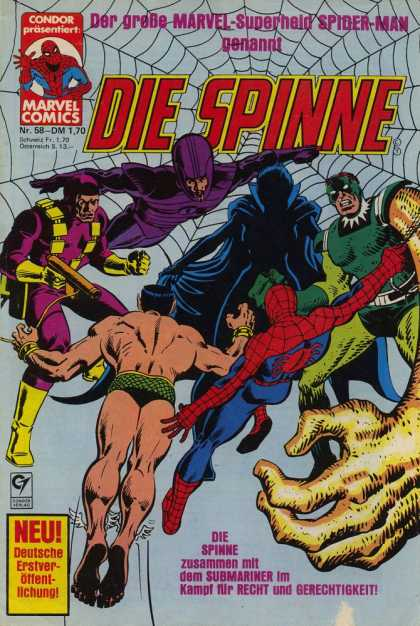 Die Spinne 218 - Spider Web - Spiderman - Hand Gun - Dark Enemy - Masked Nemesis