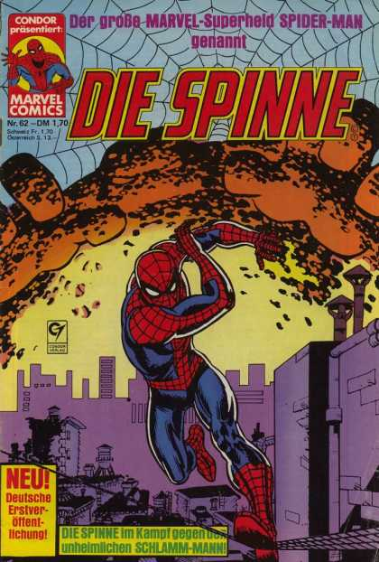 Die Spinne 222 - Condor - Marvel - Spider-man - Superhero - Spiderweb