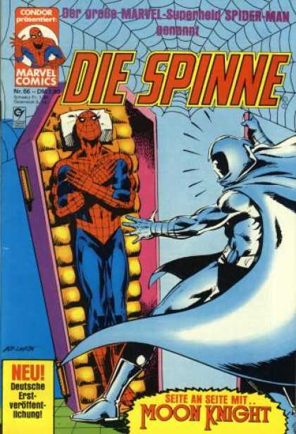 Die Spinne 226 - Marvel - Superhero - German - Moon Knight - Coffin