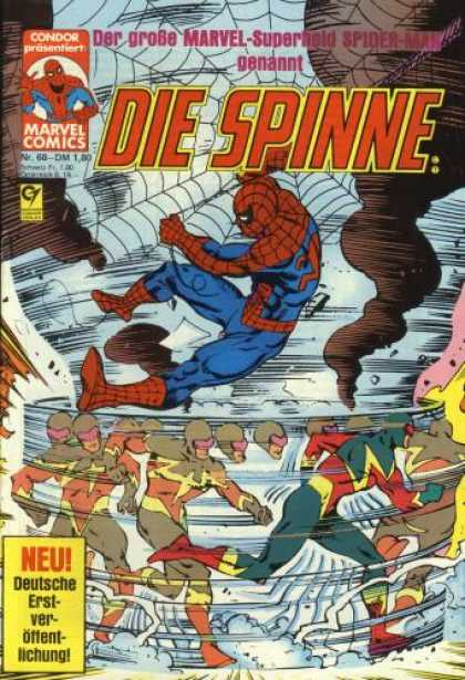Die Spinne 228 - Condor Prasentiert - Marvel Comics - Spiderman - Neu - Nr68
