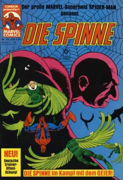 Die Spinne 230 - Spiderman - Marvel Comics - German Text - Condor - Die Spinne