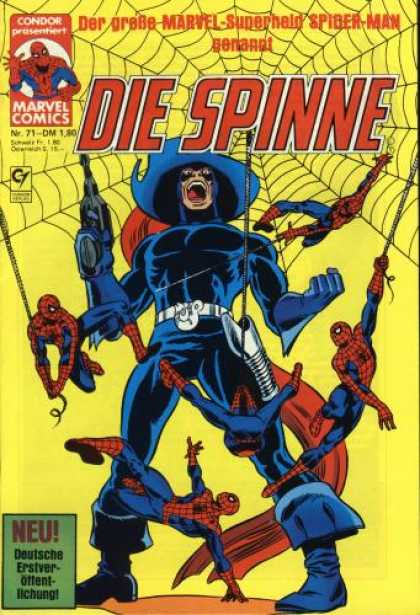 Die Spinne 231 - German - Marvel - Web - Gun - Blue