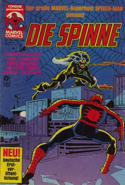Die Spinne 233 - Spiderman - German - Spiderweb - Number 73 - City