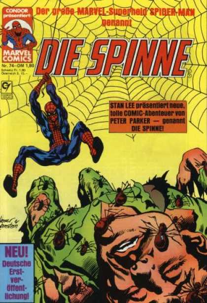 Die Spinne 234 - German - Spiderman - Web - Peter Parker - Bugs