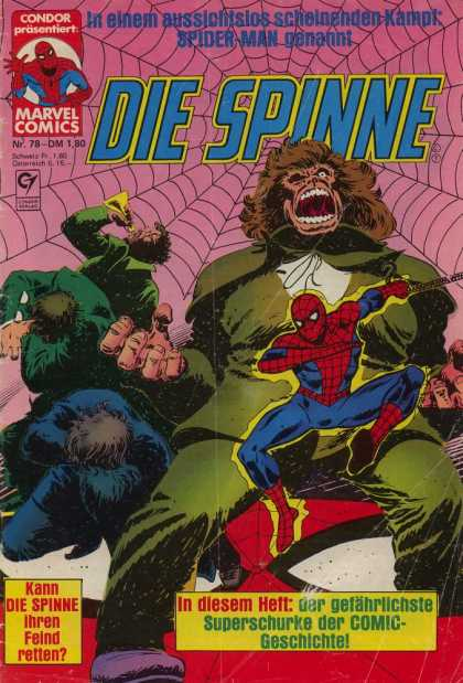 Die Spinne 238 - Spiderman - Giant Gorilla - Villians - Large Web - Fighting