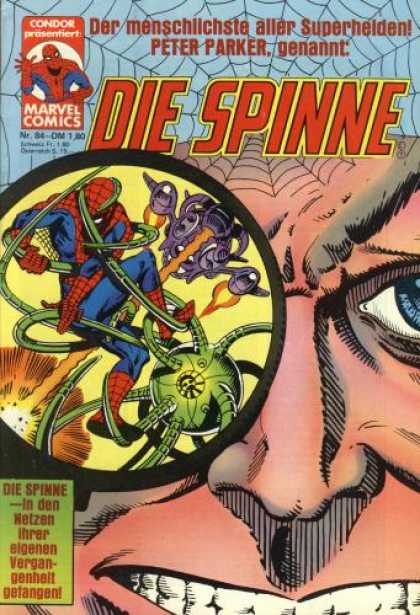 Die Spinne 244 - Condor Prasentiert - Marvel Comics - Peter Parker - Spiderman - Nr84