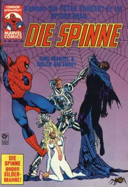 Die Spinne 246 - Spiderman - Web - Blond - Spider - Peter Parker
