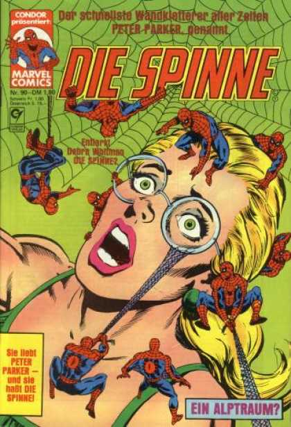 Die Spinne 250 - Web - Condor - Marvel Comics - Woman - Ein Alptraum