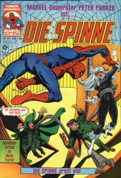 Die Spinne 251 - Spiderman - Doc Oct - Girl - Vampire - Marvel