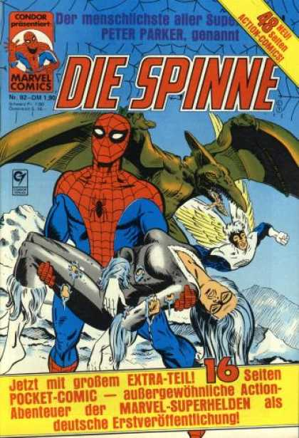 Die Spinne 252 - Dinosaur - Spider-man - German - Pocket-comic - 16