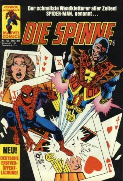 Die Spinne 263 - Playing Cards - Photo - Fly - Hero - Heart