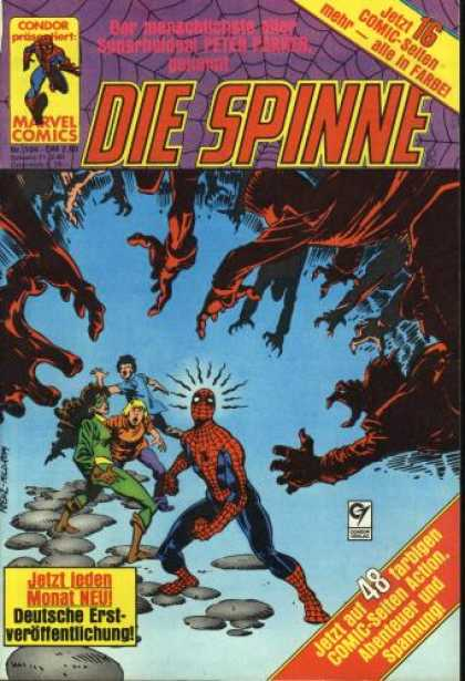 Die Spinne 264 - Condor - Marvel - Spiderweb - Outreached Hands - Rocks