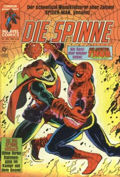 Die Spinne 269 - German - Spiderman - Web - Fighting - Marvel