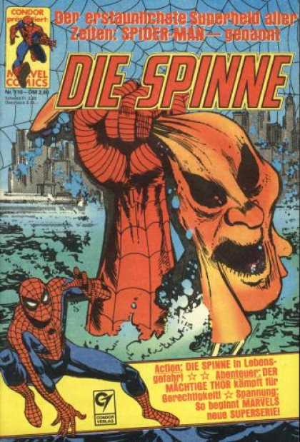 Die Spinne 270 - Spider-man - Spiderweb - Fist - Mask - Superhero