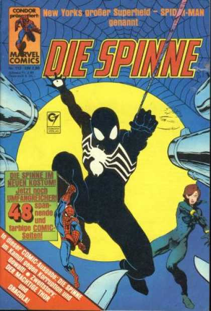 Die Spinne 272 - Four Guns - Black Spidy - Yellow Moon - Web - Knives