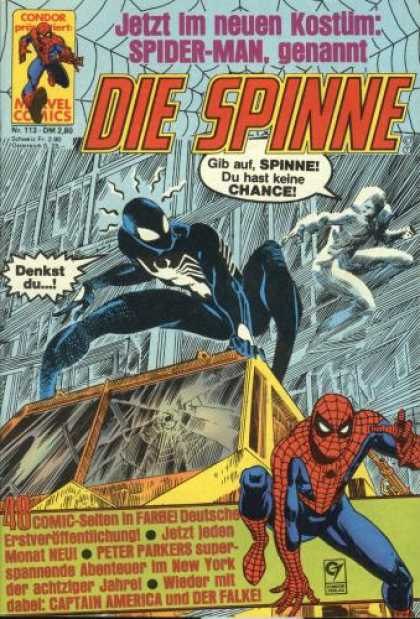 Die Spinne 273 - German Comic - Spiderman - Symbiote Suit - Marvel - Captain America
