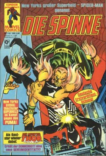 Die Spinne 276 - Marvel - Marvel Comics - Spiderman - Venom - Spinne