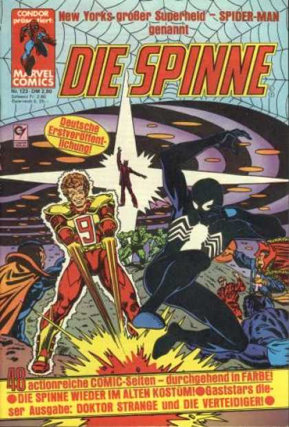 Die Spinne 283 - Doktor Strange - Spiderman - Explosion - Web - Super Hero