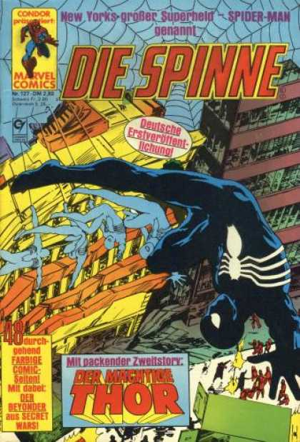 Die Spinne 287 - City - Web - Falling - Spider - Flat