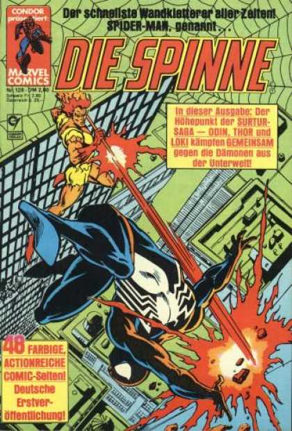 Die Spinne 288 - German Comic - Spiderman - Odin - Thor - Loki