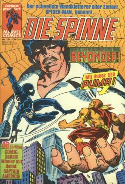 Die Spinne 294 - Marvel - Marvel Comics - Spiderman - Puma - Venom