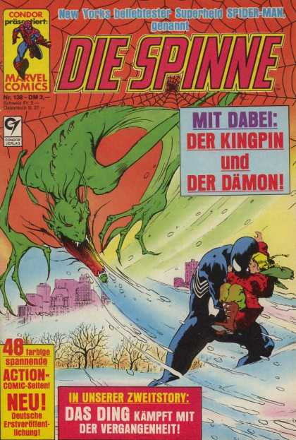 Die Spinne 298 - Real Saver - Der Damon - Dare Devil - Big Evil - Mit Dabel