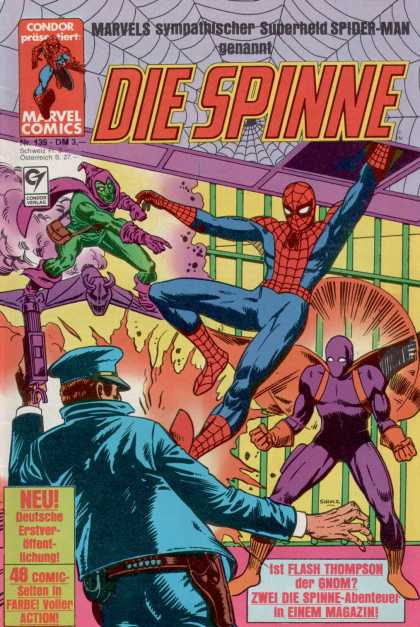 Die Spinne 299 - Superhero - Marvel - Spiderweb - Spider-man - Condor